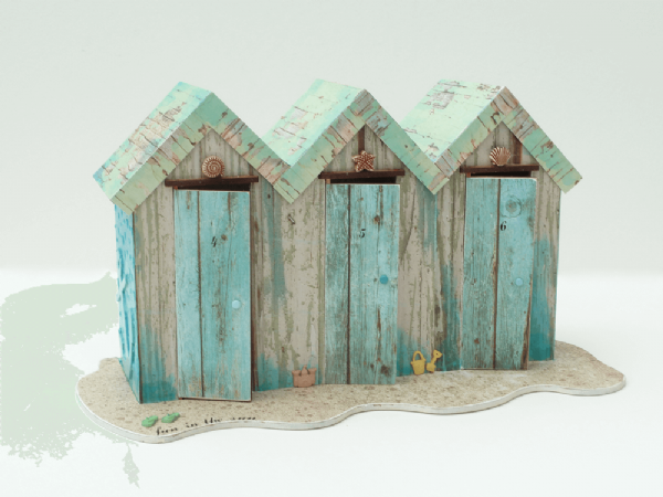 Triple Beach Hut